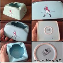 **incendeo** - Johnny Walker Johore Pipe Company Porcelain Ashtray