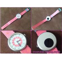 **incendeo** - Authentic flik-flak Swiss Pink Watch for Girls