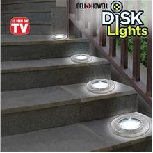 SOLAR DISK LIGHT (4-LED)
