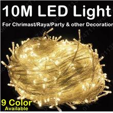 100LED 10M LED String Fairy Light Christmas Party Wedding Decoration 1