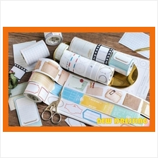 WH358 - Tag and Label Notebook Washi Tape