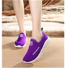 Relax Comfortable Sport Pump Shoes (Purple)