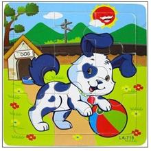 9 Pcs Educational Early Childhood Interesting Puzzle (Puppy)
