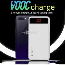 Mopoer OPPO VOOC Fast Charge Dual USB Output LED PowerBank 20000mAh