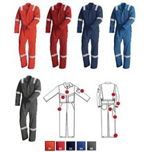 Coverall Red Wing Summer Temperate Flame Retardant Anti Static 61112