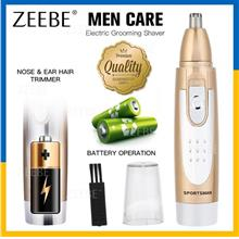 2 in 1 Electric Grooming Hair Shaver Razor Nose Beard Trimmer 403
