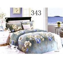 QUEEN SIZE FITTED BEDDING SET / 3PCS Queen