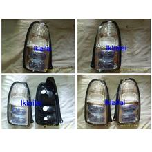 Perodua Kelisa Crystal Clear / Blue Tail Lamp [price per pair]