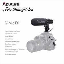 Aputure V-Mic D1 Sensitivity Adjustable Directional Condenser Shotgun Micropho