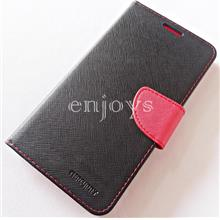 MERCURY Fancy Diary Case Flip Cover Huawei Mate 9 (5.9) ~BLK/RED *XPD