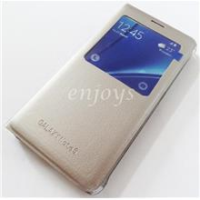 GOLD S View Flip Cover Case Samsung Galaxy Note 5 / N9208 *XPD