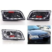 VOLVO S40 '01-03 Projector Head Lamp [DRL R8 Look]