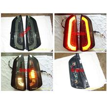 Perodua Myvi Light Bar Tail Lamp [Smoke] 1-pair