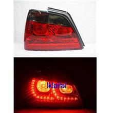 Proton Waja Full LED Golf Design Tail Lamp [Red/Smoke]