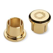(PM Availability) Oehlbach XXL Cinch RCA Caps Gold (Gold)