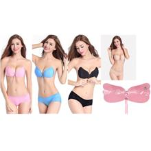 **CELLY**  Imported Strapless Self Adhesive Silicone Invisible Push-up..
