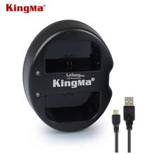 KingMa Dual 2-Channel Camera Battery Charger for LP-E6
