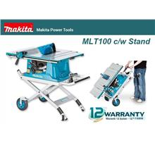Makita MLT100 255mm (10') Table Saw c/w Wheeled Stand