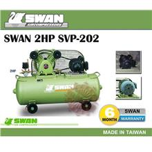 Swan SVP-202 (2HP) 85Liter Reciprocal Air Compressor