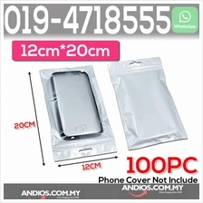 Clear White Plastic Bag Zip Lock Pouch Packaging 12*20cm Plastik