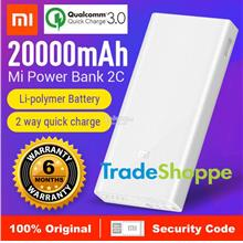 Xiaomi Mi Powerbank 20000mah 2C - Original Genuine with code