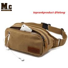 Multi-functional Outdoor Sports Leisure Canvas Waist Purse Pocket Bag