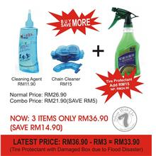3 In 1 Cleaning Combo only RM33.90 (SAVE RM17.90)