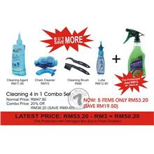 5 in 1 Cleaning Combo only RM50.20 (SAVE RM19.50)