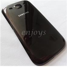 AP HOUSING Battery Cover Samsung I9300 Galaxy S 3 III ~Amber brown