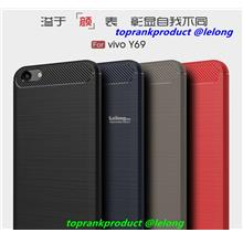 ViVO Y69 Rugged Armor Soft Silicone Back Case Cover Casing