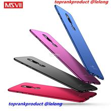 Msvii OnePlus 6 1+6 Baby Skin Matte Back Armor Case Cover Casing