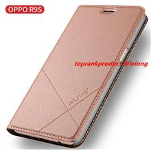 Alivo OPPO R9S / Plus Flip PU Leather Stand Armor Case Cover Casing