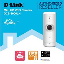 D-Link Mini HD WiFi Wireless USB Cloud Recording Camera DCS-8000LH