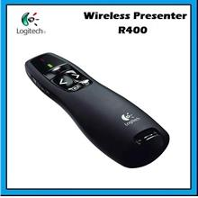 Logitech R400 Wireless Presenter Red Laser Pointer