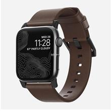 Original NOMAD Modern Leather Strap for Apple Watch 42MM -Rustic Brown