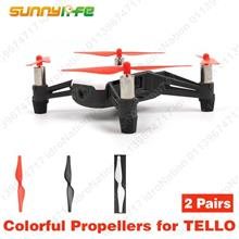 SUNNYLIFE DJI Tello Propeller Quick Release Folding Propellers Repair