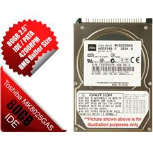NEW Toshiba 80GB 2.5' inch in IDE Pata ATA Laptop Hard Disk Drive HDD