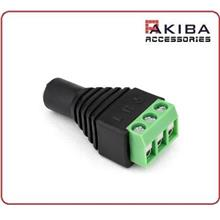 3.5mm Audio Female to 3-Terminal Screw Connector