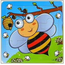 9 Pcs Educational Early Childhood Interesting Puzzle (Bee)