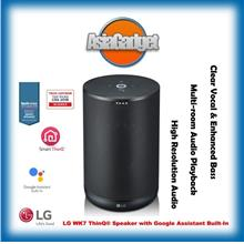 LG WK7 ThinQ WiFi Bluetooth Speaker with Google Assistant