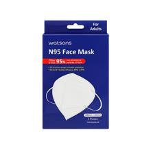 WATSONS N95 Face Mask 3s)