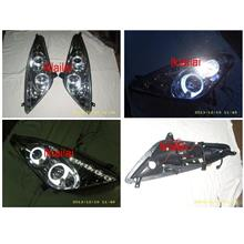 SONAR TOYOTA CELICA '01 Dual LED Ring Projector Head Lamp [Chorme]