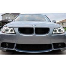 BMW E90 `05 M3 Style Front Bumper W/Lower Grille+Fog Lamp