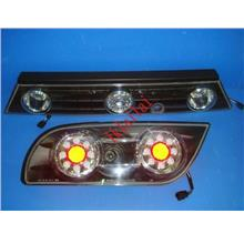 Sonar Nissan Silvia S13 Smoke LED Tail Lamp + Reflector