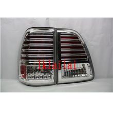 SONAR Toyota Landcruiser FJ100 '98-07 Tail Lamp Chrome