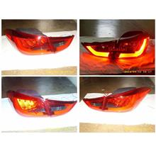 Hyundai Elantra '12-13 LED Light Bar Tail Lamp Red