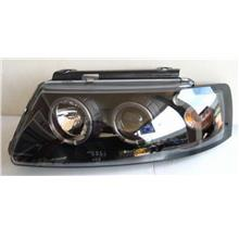 VW PASSAT B5  '98 LED Ring Projector Head Lamp Black