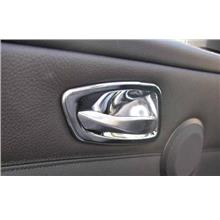 BMW E90 `05 Inner Door Handle Cover S/Steel ( 4pcs/set ) (BM03-DH01-U)