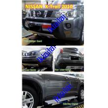 Nissan X-Trail 2010 Body Kit [Bumper Guard/Lower Garnish/Side Step]
