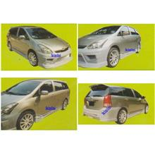 Toyota Wish '05 MS Sport Body Kit [Front/Rear Bumper+Voltex Side Skirt